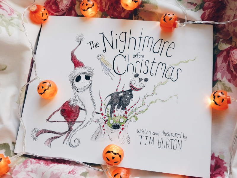 The Nightmare Before Christmas Book by Tim Burton - Review ...