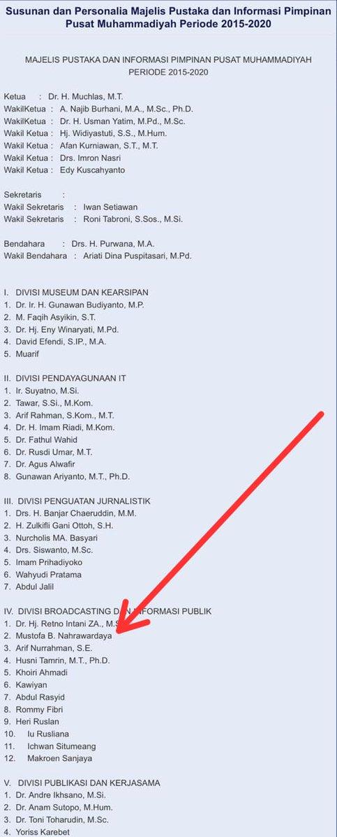 Mustofa Dituding Sudah Tak Aktif Lagi di Muhammadiyah, Begini Faktanya