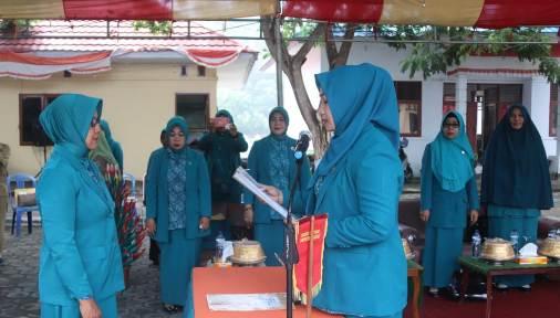 Sri Aprilia Handayani, Dilantik Sebagai Ketua, TP PKK Kecamatan Bontoharu