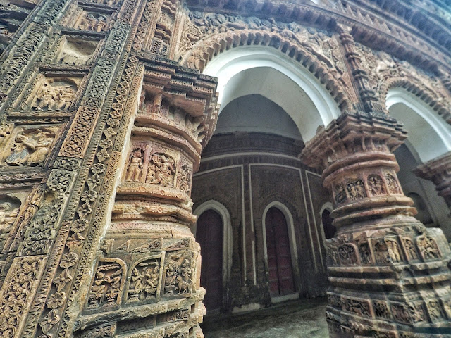 Baranagar terracotta temple murshidabad