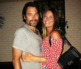Linzey Rozon with her celebrity husband Tim Rozon