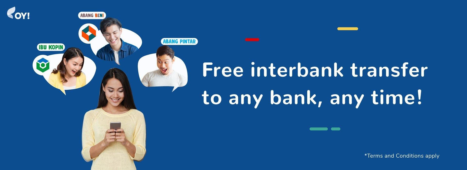 Cara Transfer Uang Antar Bank Gratis Biaya Admin