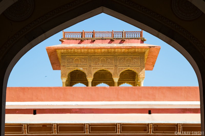 The City Palace, Jaipur.