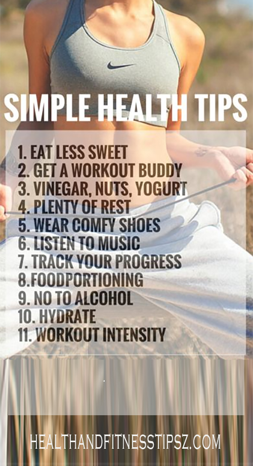 45 SIMPLE HEALTH TIPS