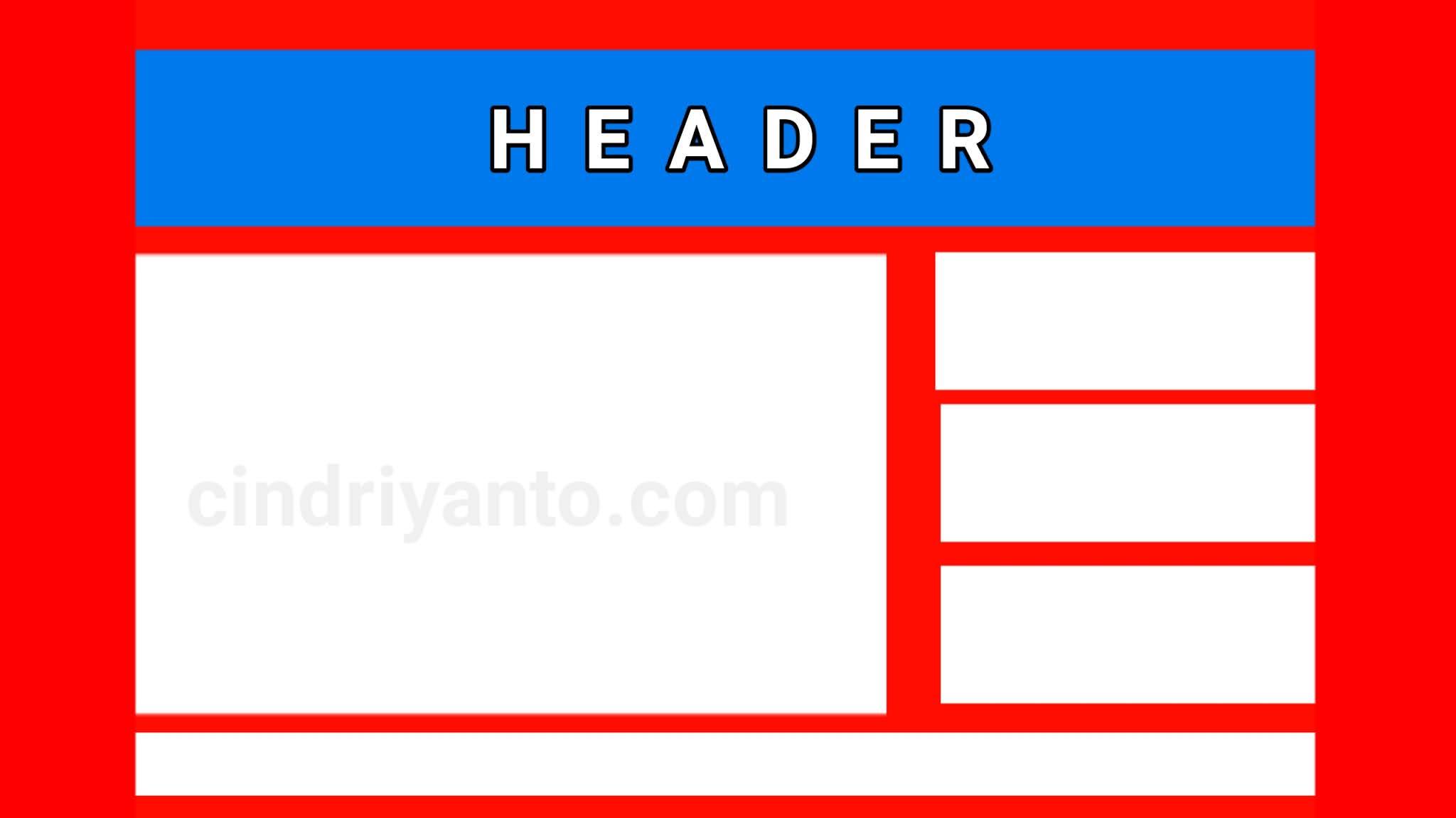 Cara mengubah header blog tanpa aplikasi
