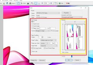 Print PPT 4 Slide Full Kertas
