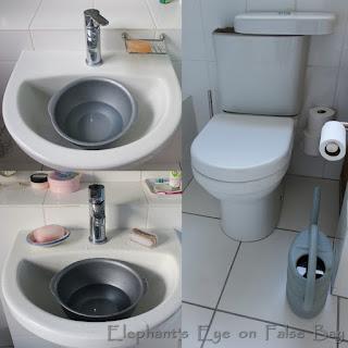 Plastic basins for cisterns