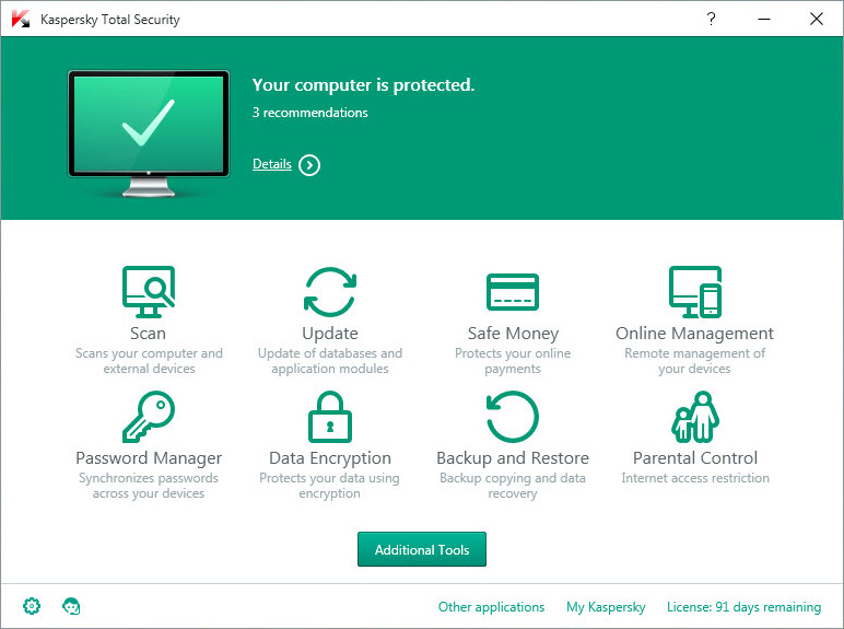 Kaspersky Total Security Final Full Version