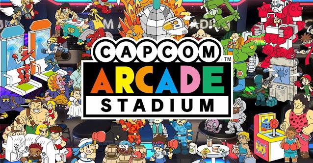 Capcom Arcade Stadium (Switch) receberá novos jogos e recursos via DLC