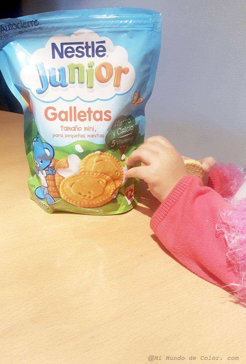 probamos las galletas nestle junior