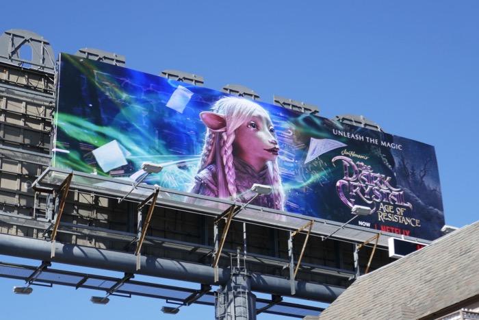 Dark Crystal Age Resistance Gelfling billboard