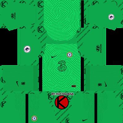 Chelsea 2020-21 Nike Kit - DLS2019