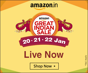 Amazon Great Indian Sale - Aha NOW