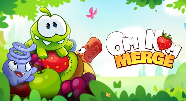 Om Nom: Merge is a Brand New Game by the Creator of Cut the Rope