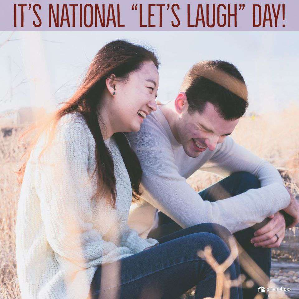 National Let's Laugh Day Wishes For Facebook