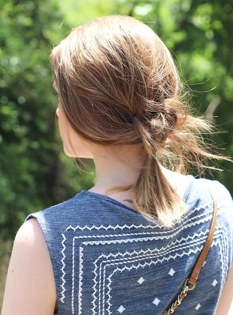Knot hair inspo