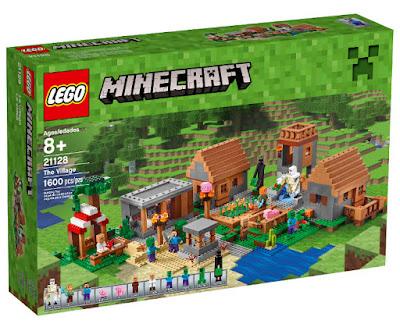 TOYS : JUGUETES - LEGO Minecraft  21128 La Aldea | The Village  Producto Oficial Videojuego 2016 | Piezas: 1600 | Edad: +8  Comprar en Amazon España & buy Amazon USA