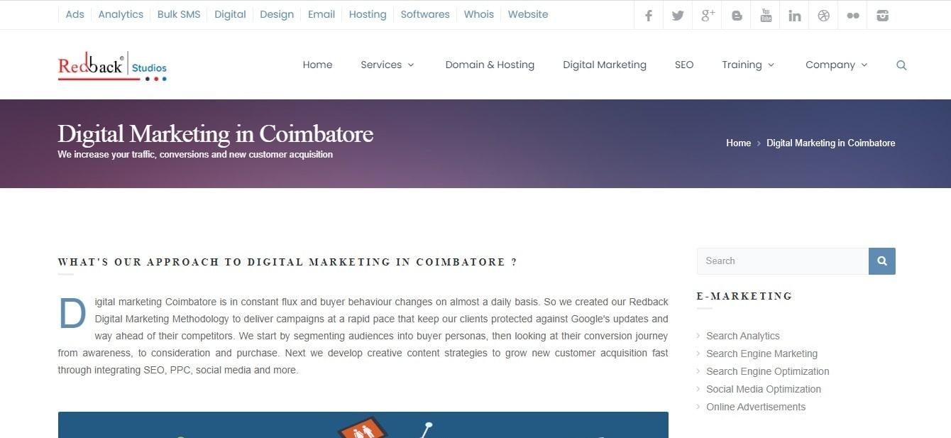 Redback - Digital Marketing Company