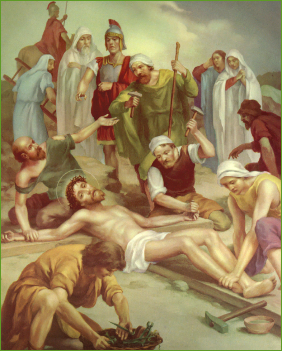 Unorthodoxy: Jesus is Nailed to the Cross
