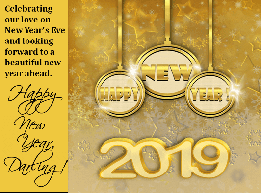 Happy New Year wallpaper 2019 HD New Year wishes wallpapers