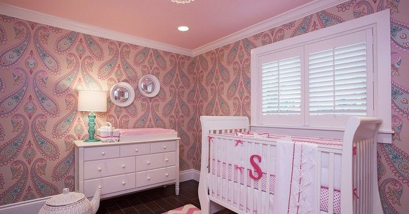 Cuartos de beb en rosa y gris  Ideas para decorar