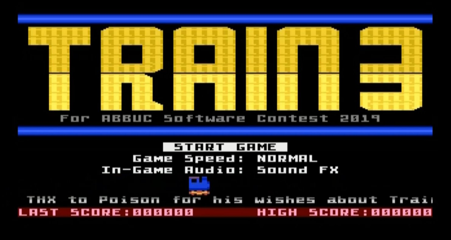 Train 3 - The sequel to a very challenging Atari XL/XE game