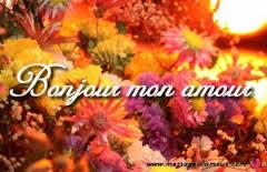 Message d'amour bonjour mon amour