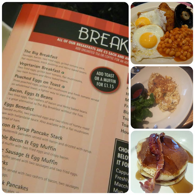 Frankie & Bennys Breakfast My Mummys World