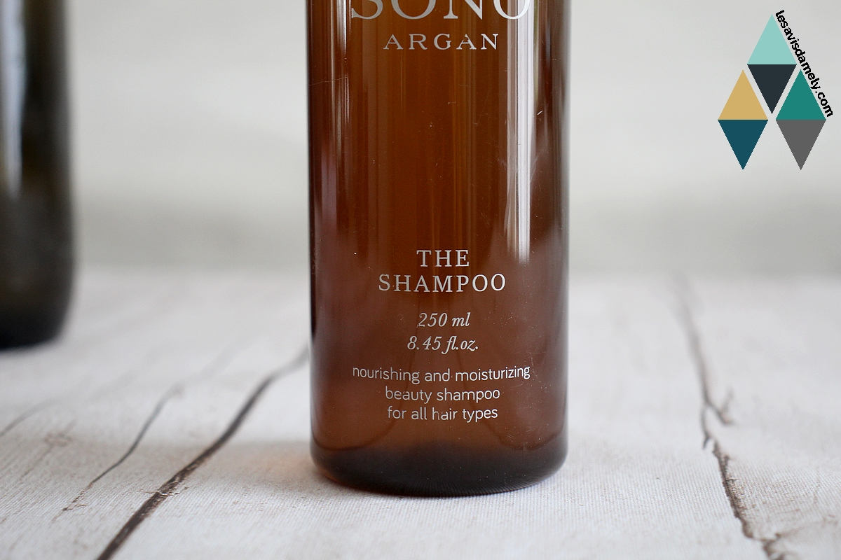 avis shampooing nourrissant sono argan