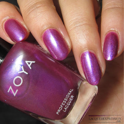 swatch of Milie from the Zoya Charming Spring 2017 nail polish collection