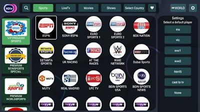 HDtv Ultimate apk, مشاهدة بين سبورت beinsport و قنوات اوس ن osn, مشاهدة الافلام والمسلسلات العالمية, شاهد جميع القنوات الرياضية بدون تقطيع