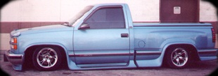 1994 Chevrolet Silverado Stepside Truck Hydraulic Suspension
