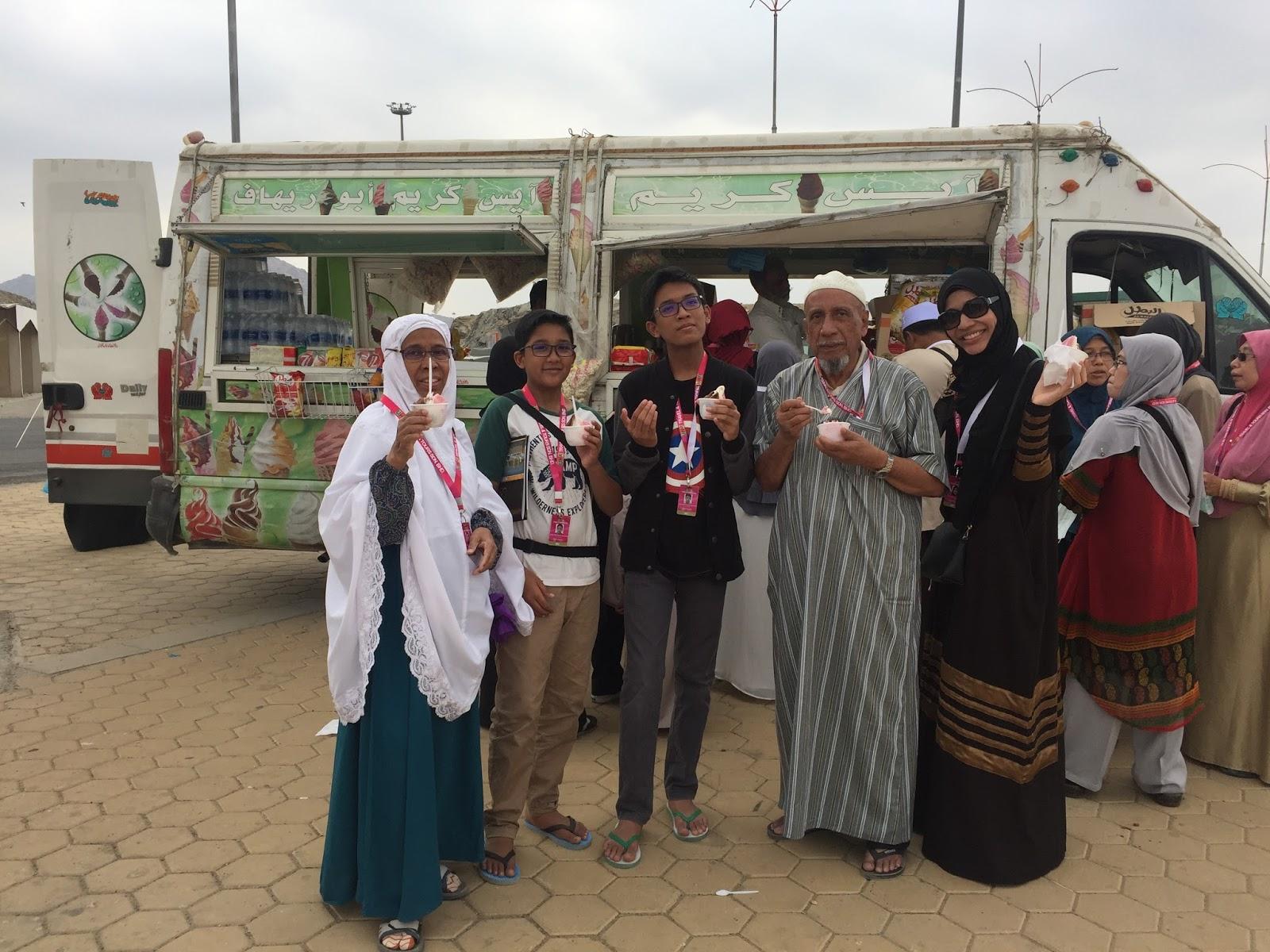 ziarah luar mekah di arafah