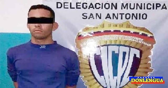 Detenido en Táchira por pegarle a su novia cuando le pedía romper con la relación