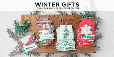 Stampin' Up! Paper Pumpkin November 2019 Winter Gifts Kit