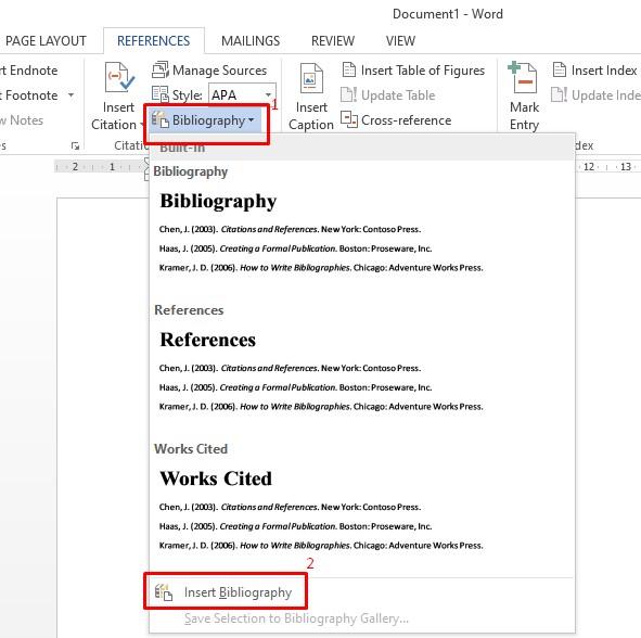 Cara Membuat Daftar Pustaka Di Word Otomatis Pakar Dokumen