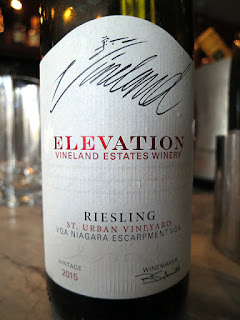 Vineland Estates Elevation St. Urban Vineyard Riesling 2015 (89 pts)