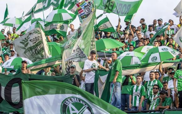 ¡Regresa la hinchada verdolaga! Alcaldía de Medellín aprobó 6.000 entradas para el choque entre Atlético Nacional y Deportes Tolima