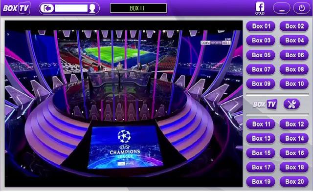 أقوى برنامج Box Tv لمشاهدة مباريات كرة القدم  بدون تقطيع شرح تفعيل