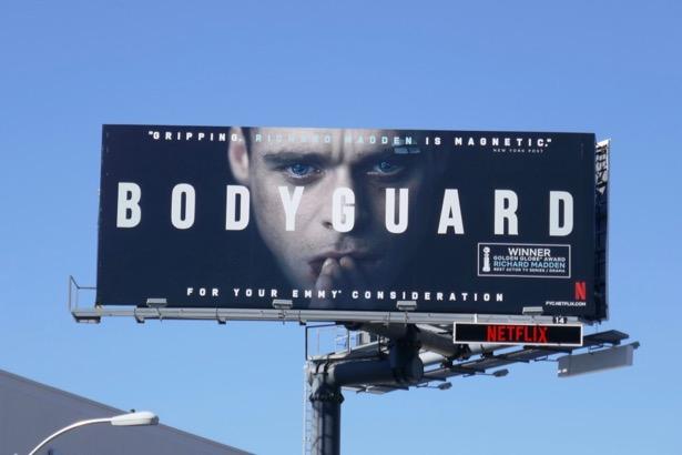Bodyguard 2019 Emmy FYC billboard