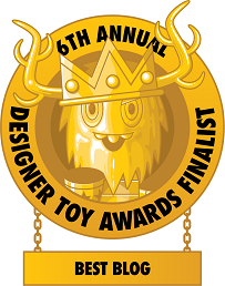 The Blot Says - 2016 Designer Toy Awards Best Blog Finalist