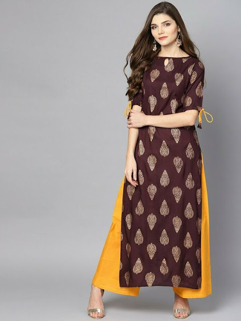 what to wear with palazzo pants indian style