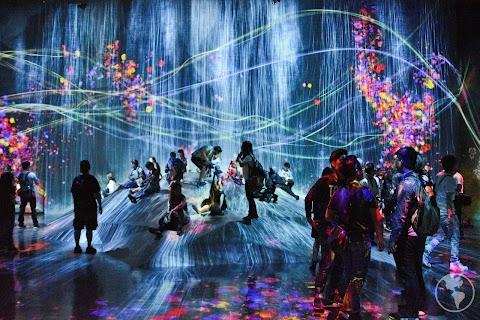 Visitando o teamLab Borderless | O incrível museu de arte digital de Tóquio