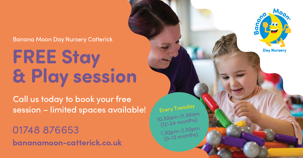 CATTERICK GARRISON HIVE: FREE STAY & PLAY SESSION - Banana