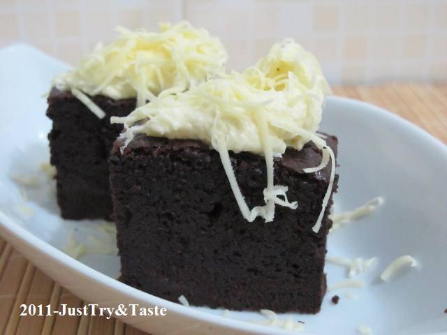 Resep Cake Singkong Jtt: Resep Pembaca JTT: Brownies Lezat & Legit Ala Chanti
