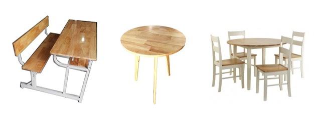 SX & bán mặt bàn ghế học sinh, mặt bàn ghế cafe, mặt bàn ghế bằng gỗ giá rẻ.