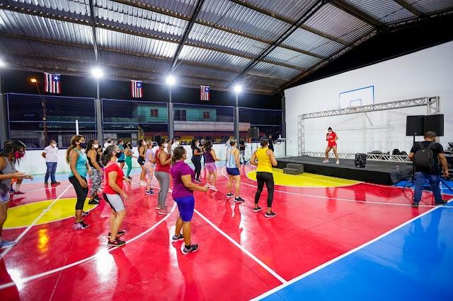Governo do Estado entrega reforma de do Centro Desportivo Cultural no Coroado