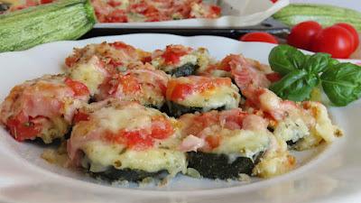 Brusketi od Tikvica / Zucchini Bruschetta