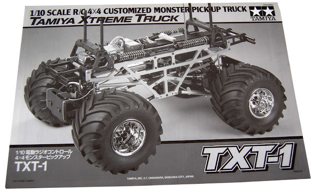 Tamiya TXT-1 owners manual