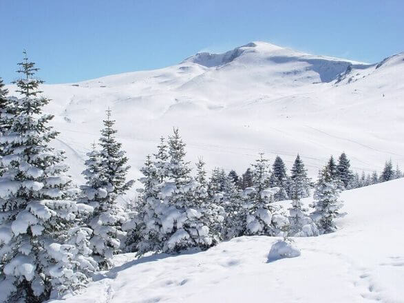 جبل أولوداغ Uludağ في تركيا